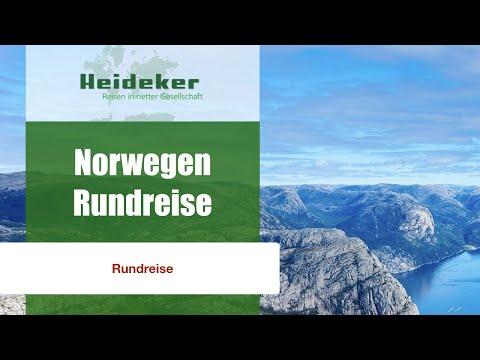 Norwegen-Rundreise mit Heideker Reisen - Hordaland-Bergen-Oygarden