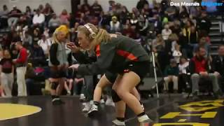 Sights and sounds Iowa's first girls high school state wrestling tournament