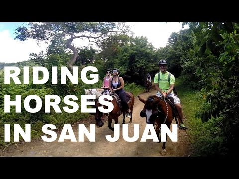 MSC Divina Horseback Riding in San Juan