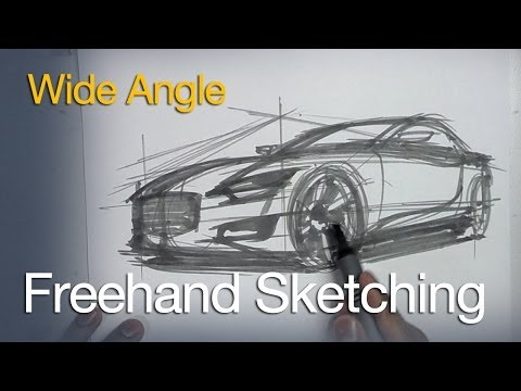 HOW TO SKETCH AND DESIGN - VEHICLE DESIGN AND SKETCHING TUTORIALS