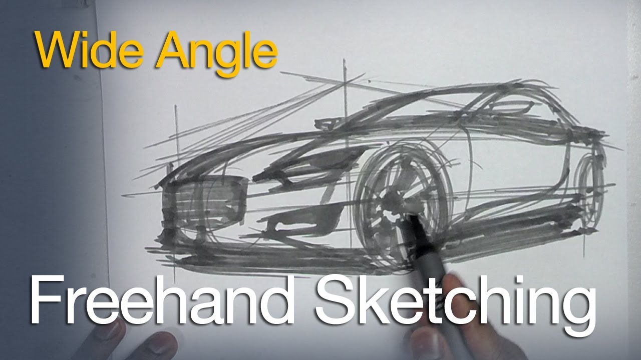 How To Sketch And Design Vehicle Design And Sketching Tutorials