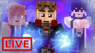 Minecraft FAIRY TAIL ORIGINS LIVE #28.1 (Minecraft Modded Roleplay)