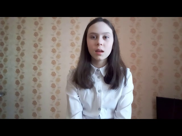 Изображение предпросмотра прочтения – АннаВоробьева читает произведение «Моя медаль» (Берггольц Ольга)