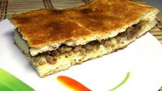 Пирог с Mясом видео рецепт