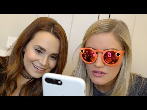 Thumbnail: Snapchat Spectacles Unboxing and review! | iJustine