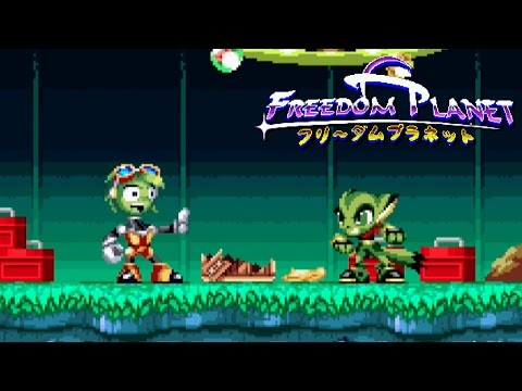Freedom Planet - Part 7 - Torque Diaries