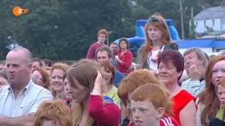 German ZDF news features the Irish Redhead Convention 2013