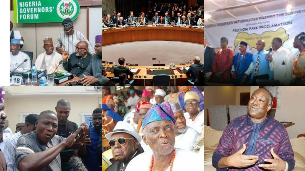 Download Group Of Nigerians Move To Dissolve Amalgamation Of Nigeria With This Action As Gov Akeredolu Respon