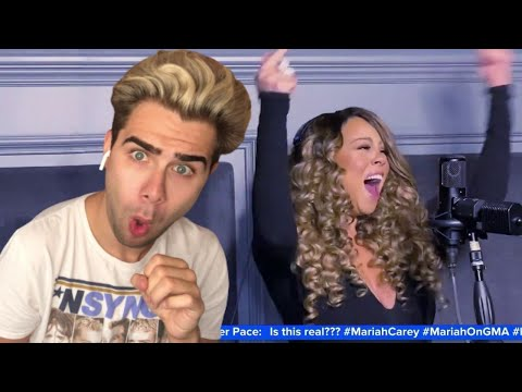 Mariah Carey - Vision Of Love & Close My Eyes/ GMA Live (REACTION) from YouTube · Duration:  10 minutes 45 seconds