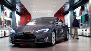 Alibaba Drives Tesla Model S to Chinese Marketplace