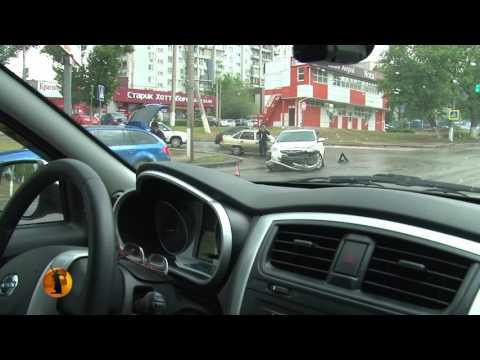 Жители Волгограда сравнили нанесенную разметку на дорогах с садовой побелкой