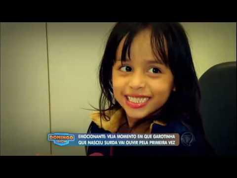 Emoção: garota surda passa por cirurgia e escuta pela primeira vez
