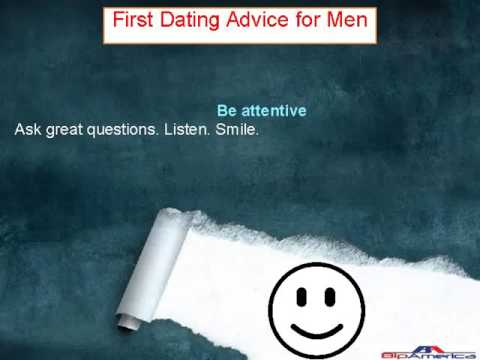 First Dating Advice for Men