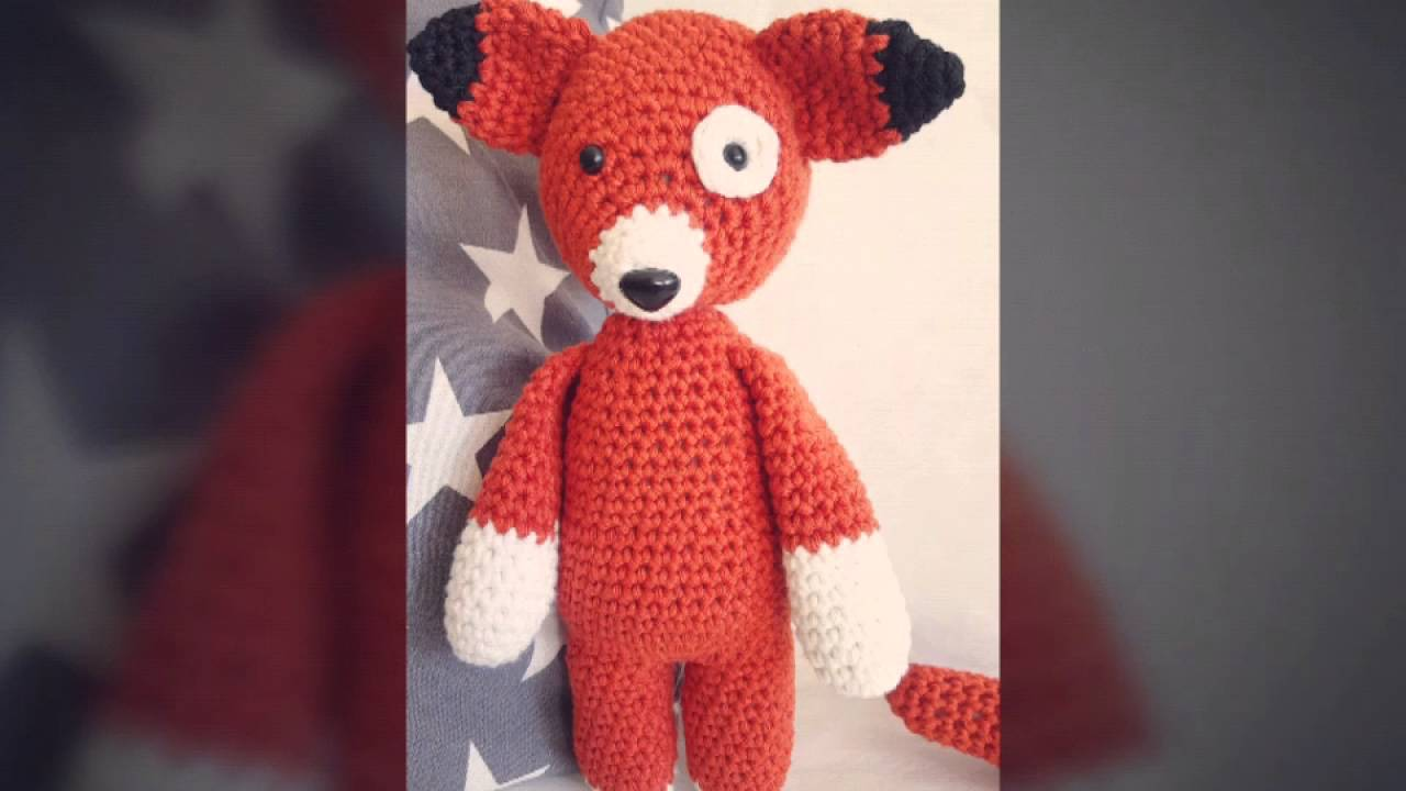 Spieluhr Fuzzi Fuchs Crochet By Bomondo Melodie Stevie Wonder I