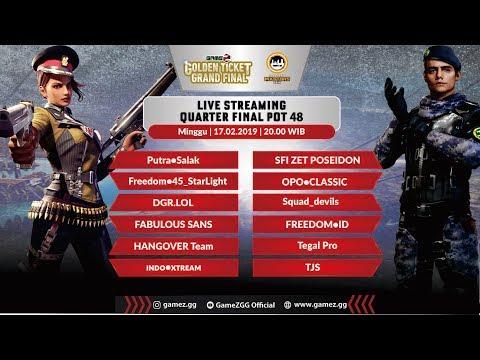 download GameZ Golden Ticket Squad - POT 48 - Match 1