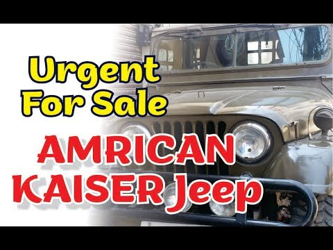 AMRICAN  KAISER JEEP Urgent  For Sale