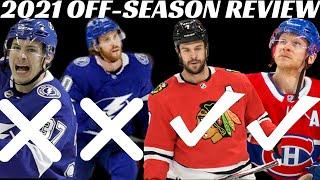 2021 NHL Off-Season Review - Tampa Bay Lightning