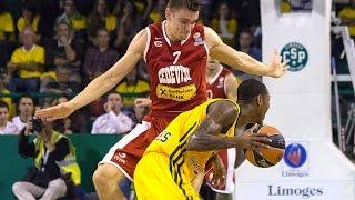 Highlights: Limoges CSP-Cedevita Zagreb