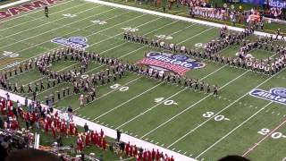 Ohio State Marching Band 1/1/15 Superdome.