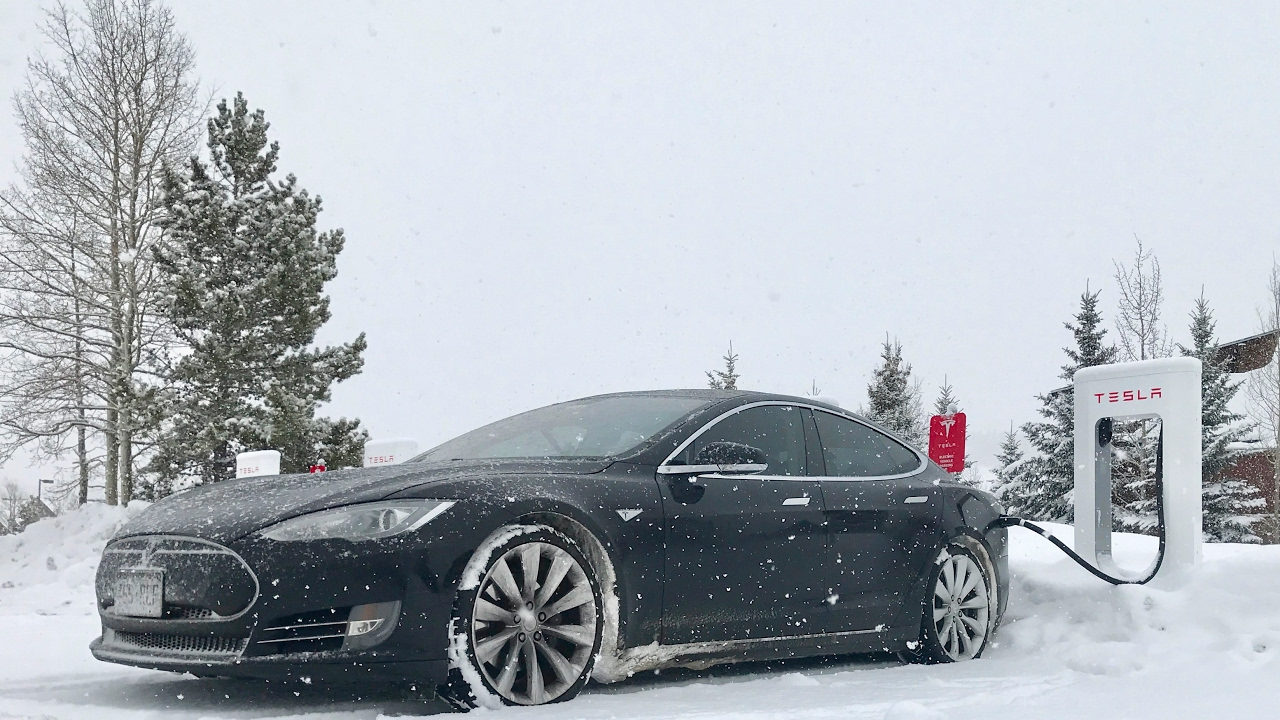 How Good Is The Tesla For Driving In Snow