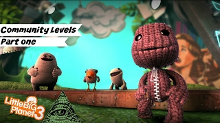 \Little Big Planet 3/ Community Maps | # 1 | All the Shark Porn!