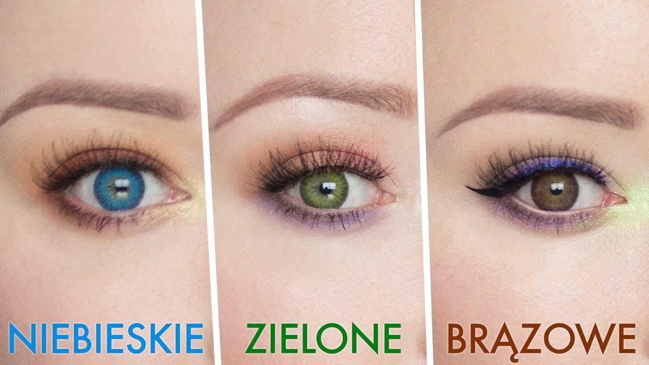 Jak Dobrać Makijaż Do Koloru Oczu Red Lipstick Monster Youtube
