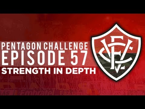 Pentagon Challenge Ep.57 Strength in Depth | Football Manager 2013