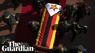 Zimbabwe holds state funeral for Robert Mugabe in capital Harare