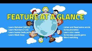 Kids World Learn Basic English
