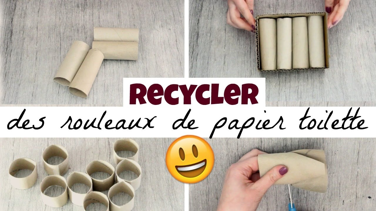 5 choses faire avec des rouleaux de papier toilette youtube. Black Bedroom Furniture Sets. Home Design Ideas