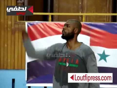 لاعب أمريكي ينال الجنسية السورية ويصل دمشق ليلعب مع منتخب سوريا – القصة مصورة
