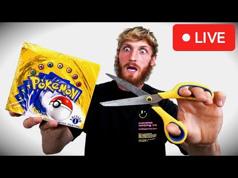 Opening The $200,000 1st Edition Pokemon Box (Official Live Stream)