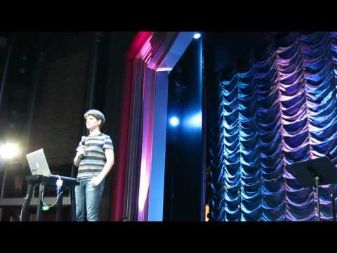 Randall Munroe introduction and flying meatship calculations on JoCo Cruise Crazy 3