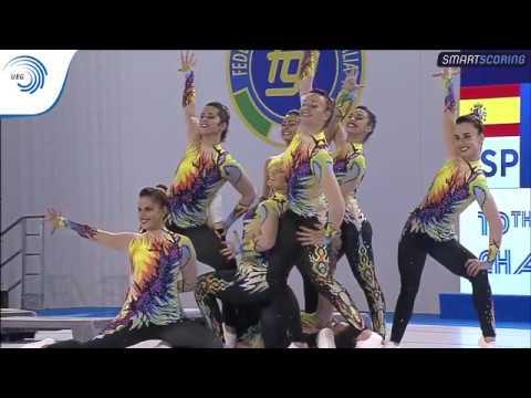 REPLAY: 2017 Aerobics Europeans - Senior FINALS Aero Step & Aero Dance, plus medal ceremonies