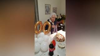Nonna Filomena, un secolo nella pandemia: «Il sorriso e la preghiera contro ogni difficoltà»