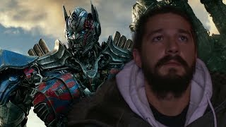 Shia LaBeouf's Reaction to Transformers The Last Knight