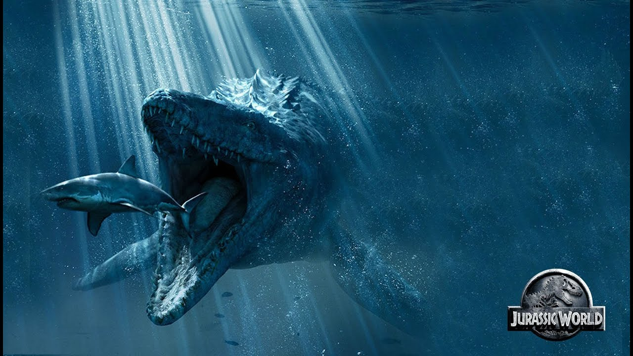 Jurassic World 2 - Mosasaurus Discussion - YouTube
