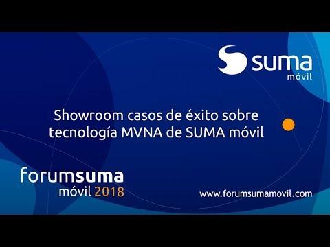 Showroom casos de éxito sobre tecnología MVNA de SUMA móvil
