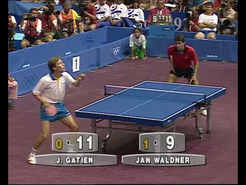 1992 Olympic Barcelona Waldner vs Gatien Final