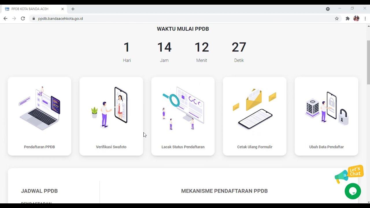 Tugas Pokok Operator Ppdb Kota Banda Aceh 2021 Youtube
