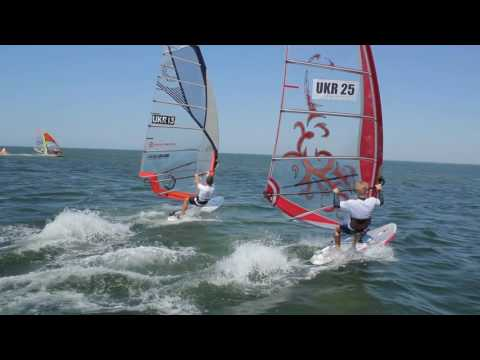 Ukraine windsurfing cup slalom event 2016