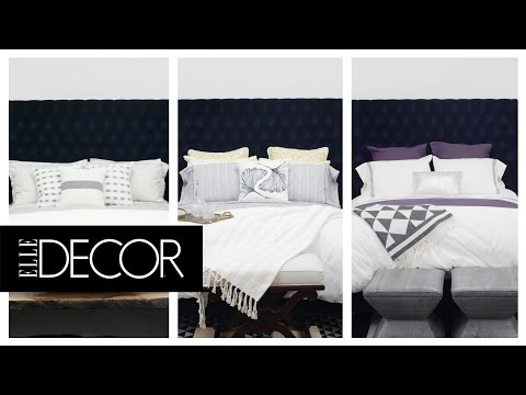 3 Unique Ways to Style a White Duvet Cover | ELLE Décor