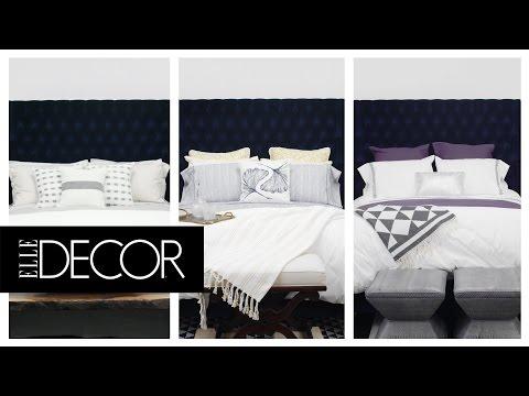 3 Unique Ways to Style a White Duvet Cover | ELLE Décor