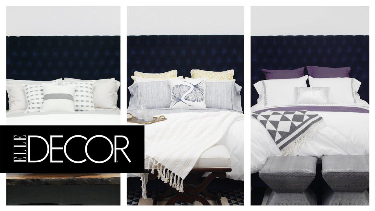 3 Unique Ways To Style A White Duvet Cover Elle Decor Youtube