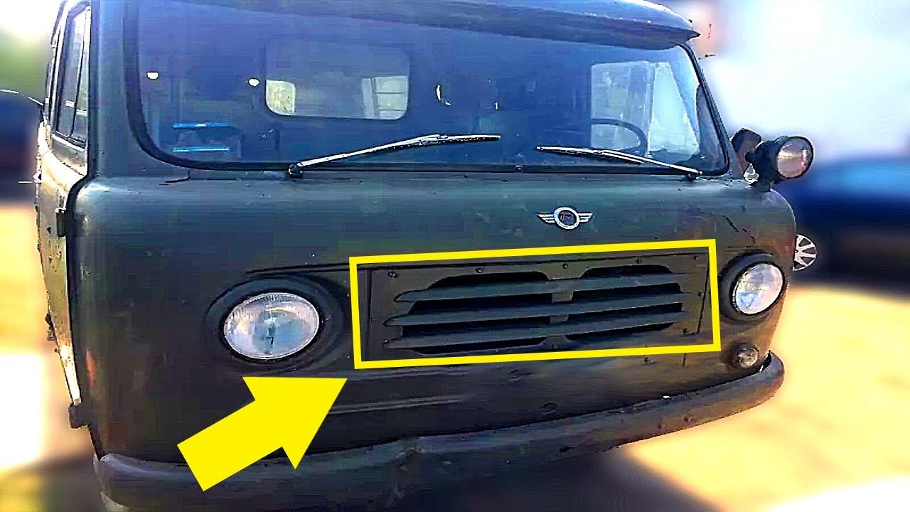 Нашли чудом уцелевшую раннюю «БУХАНКА» УАЗ-450 теперь ее продают за