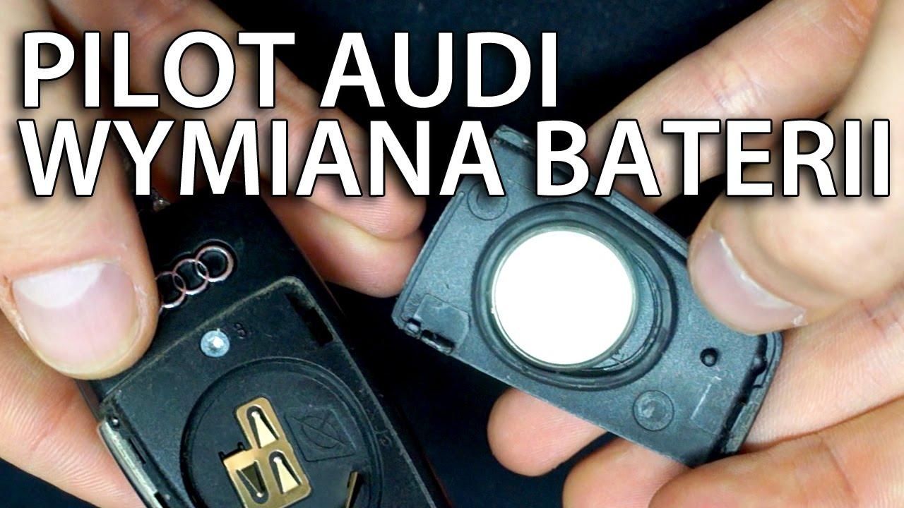Wymiana Baterii Pilota Audi Kluczyk A3 A4 A5 A6 A7 A8 Q3 Q5 Q7