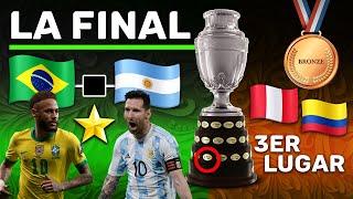 LA FINAL COPA AMERICA 2021 BRASIL vs ARGENTINA Previa Predicción y Nuevo Campeón