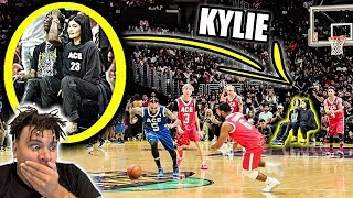 I Caught Kylie Jenner Doing THIS at the Ace Family Basketball Game *OMG*