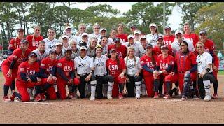 Stand Beside Her Tour   Team USA vs Oklahoma State Softball