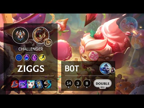 Ziggs Bot vs Ashe - EUW Challenger Patch 10.16